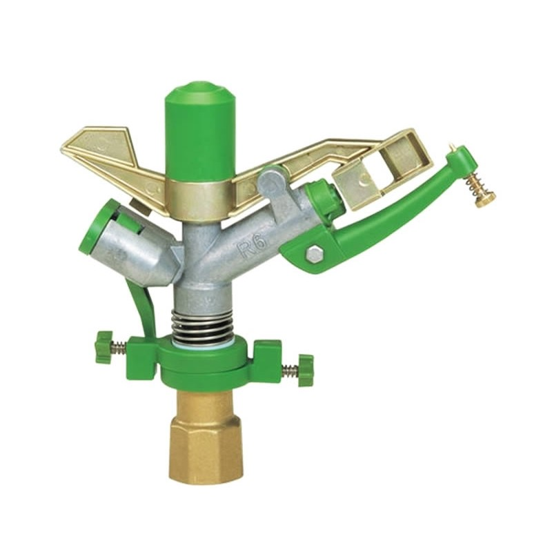 Irrigatore a martelletto professionale in metallo e plastica R6 diam. 1""