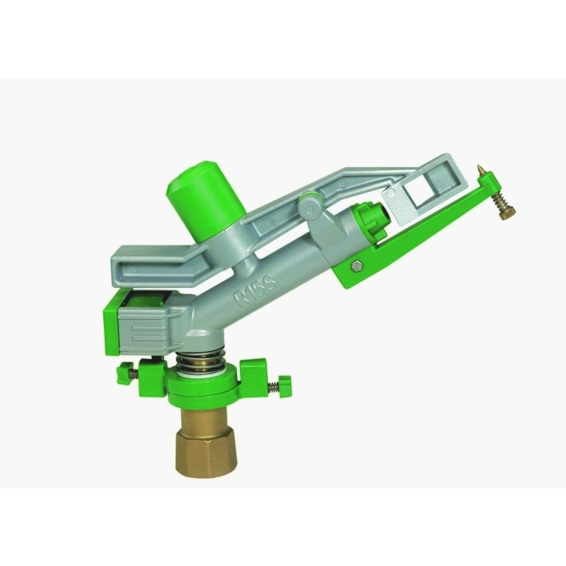 Irrigatore a martelletto professionale in metallo e plastica R15S diam. 1.1/4""