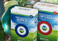 Concime prato Bottos Slow K e Slow Green Pack
